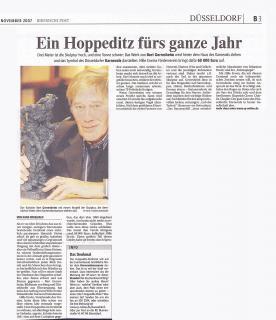 Berichte zum Hoppeditz-Denkmal